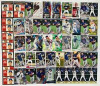 NICO HOERNER Bowman Chrome Rookie Red Foil Refractor Emerald Parallel Card LOT