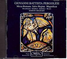 Pergolesi: Missa Romana, Salve Regina, Magnificat / Sieghart - CD