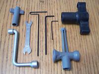 Traxxas E-maxx Tools 17mm Splined Wheel Hex Wrench Kit 17 mm Tire 1/10 Summit