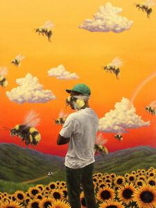 Tyler the Creator Flower Boy Rap Music Album Print Poster Wall Decor 24x32inch