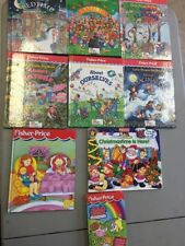 FISHER-PRICE LITTLE PEOPLE  LOT of 9 BOOKS