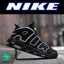 Nike Kids Size 7Y Air More Uptempo Black White Scottie Pippen NEW IN BOX 415082