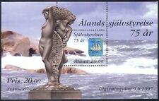 Aland 1997 Ship/Statue/Hologram/Holograph/Sailing/Transport 1v m/s (n40952)