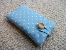 Handmade Cath Kidston Mini Dot Blue iPod Nano 7th / 8th Gen Fabric Padded Case