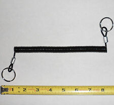 "4 ea - 1/2"" Dia Weight Stack Pin Lanyard w/Rings - Stretching Range: 9"" to 40"""