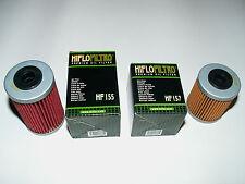 Ölfilter Set HIFLO HF155 und HF157 für KTM EXC, SX, SMR, SMC 450-690