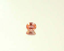 Pink Imperial Topaz Faceted Oval Gemstone #IP104
