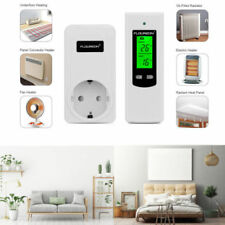 Wireless Rf-Digital Thermostat Heating Cooling Temperature Controller Us Plug-in