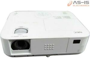 *AS-IS* NEC NP-M323W WXGA Conference Room Projector