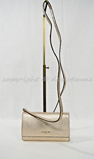 NWT Coach 65558 Small Leather Phone Case/ Wallet Crossbody Bag in Platinum