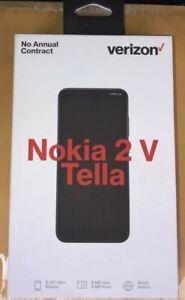 "NEW Nokia 2 V Prepaid Smartphone Verizon 5.5"" Display 8MP"
