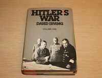 Hitler's Volume One by David Irving 1977 Hardcover Book Club Edition