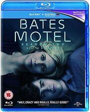 Bates Motel Complete Series 2 Blu Ray All Episode Second Season Original UK NEW