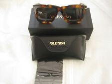 VALENTINO V702SAM HAVANA BROWN  Sunglasses w/case-Authentic-MSRP:$426.00