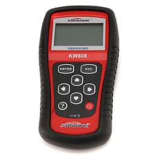 KW808 OBDII Auto Scanner Car Engine Fault Code Reader Diagnostic OBD2 Scan Tools
