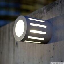 Außenleuchte Außen Wandlampe Wandleuchte Weglampe TORBAY Alu Silber grau G9 IP54