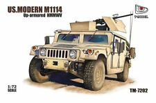 T-Model 7202 1/72 US M1114 Humvee Up-Armored Tactical Vehicle w/GPK Turret