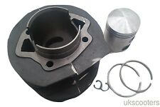 ukscooters LAMBRETTA GP175 CYLINDER KIT 62MM CYLINDER, PISTON, RINGS, HEAD