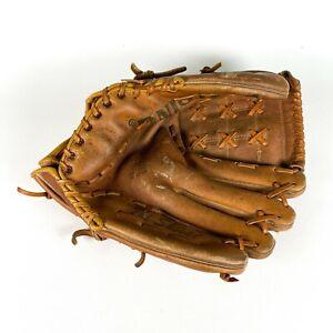VTG Spalding The Shovel Baseball Glove Mitt Genuine Leather Model 42-7155 Lefty