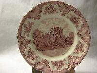 "Vintage Johnson Brothers England Old Britain Castles Dinner Plate 10"""