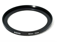 62mm-72mm 62-72 Stepping Ring filtro Anello adattatore step up