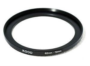 62mm-72mm 62-72 Stepping Ring Filter Ring Adapter Step up