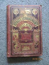 """Jules Verne Hetzel  """" Un capitaine de 15 ans """" 1878"""