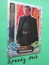 Topps Star Wars Das Erwachen der Macht Force Attax General Hux Power Bonus 219
