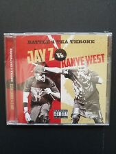 Jay Z vs Kanye West Battle 4 Tha Throne CD 2016 Blackstar Recordings BRAND NEW