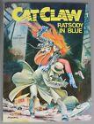 """CAT CLAW Nr.1 """"RATSODY IN BLUE"""" von BANE KERAC, Arboris Verlag 1992"""