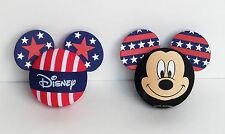 Disney - Mickey Mouse - Patriotic Disney & Mickey Pride Antenna Toppers Lot of 2