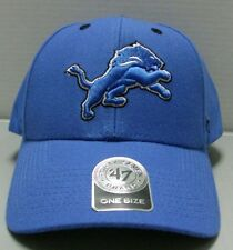 Detroit Lions Hat Audible NFL Blue Hat By Brand 47 Free Shipping