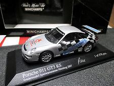 1/43 Porsche 911 GT3 RS Messe-Modell Nürnberg 2007 MINICHAMPS MINT + RAR !