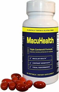MACUHEALTH With LMZ3 Vitamins 90 Capsules Soft Gels Sealed Bottle... EXP 6/23