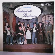"""33T COMEDIE FONSON & WICHELER Vinyle LP12"""" MARIAGE DE Mlle BEULEMANS - RCA 20001"""