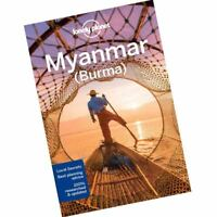 Myanmar By Lonely Planet (Burma) (Travel Guide) Paperback Brand New