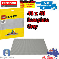 Lego Classic Building Accessories Gray Baseplate base plate 10701 48 x 48 studs