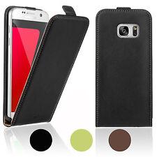 Handy-Taschen & -Schutzhüllen aus Leder für das Samsung Galaxy S7 edge