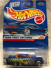 Hot Wheels 1998 First Editions #34 At-A-Tude Studebaker MOC ERROR Front Wheels