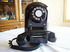 Vintage Philips Electric Canada Bakelite Wall Telephone Very Nice Condition!
