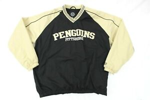 Vintage Pittsburgh Penguins G-III NHL Hockey Windbreaker Jacket Men's XL