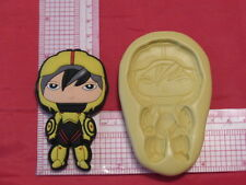 Hero Character Silicone Push Mold #178 Candy Cake Chocolate Resin Sugarpaste