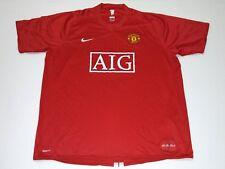 2007 MANCHESTER UNITED NIKE XXL ROONEY UEFA CHAMPIONS JERSEY RONALDO CR7 ENGLAND