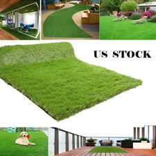Artificial Fake Synthetic Grass Rug Landscape Lawn Carpet Mat Turf In & Outdoor