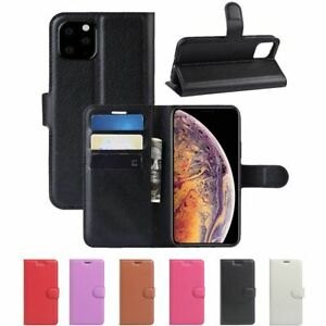 Wallet Card Holder Flip Stand Case Cover for iPhone 11 / 11 Pro / 11 Pro Max