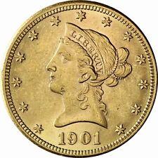 USA 10 Dollar Gold Eagle Coronet Liberty Head 1866 bis 1907 geprägtes Anlagegold