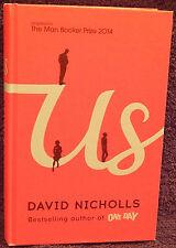 Nicholls, David.  Us.  Signed, First Edition.