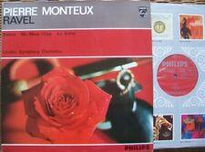 PHILIPS 835 258 LY: RAVEL BOLERO / MA MERE l'OYE / LA VALSE - MONTEUX: NM
