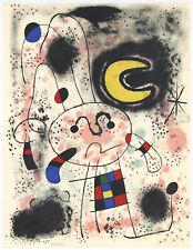 Joan Miro original lithograph 333233