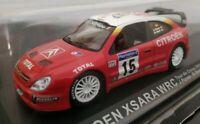 1/43 CITRON XSARA WRC TOUR DE CORSE 2001 J. PURAS M.MARTI COCHE METAL A ESCALA